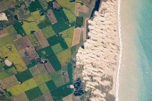 Satellite Eye on Earth: Medano Blanco, Argentina