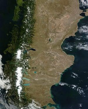 Satellite Eye on Earth: Patagonia