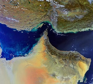 Satellite Eye on earth: Arabian Peninsula
