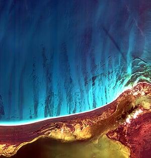 Satellite Eye on earth: Yucatan Peninsula