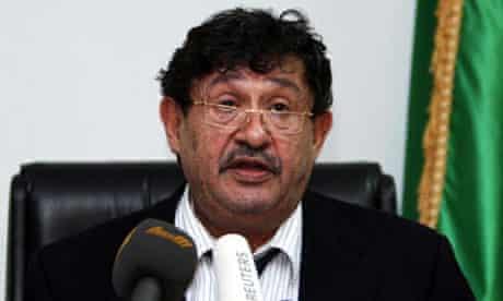 Former Libyan prime minister Abdul Ati al-Obeidi said Gaddafi regime was trying to talk to the west