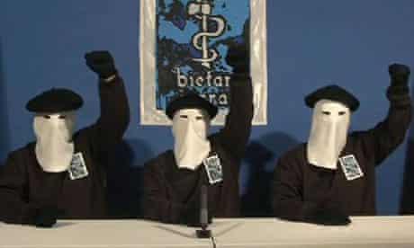 ETA fists raised