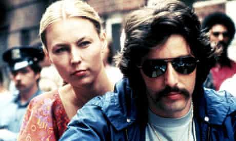 Cornelia Sharpe and Al Pacino in Serpico