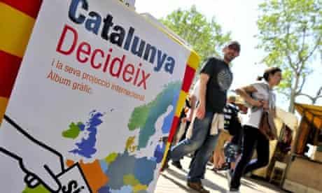 Catalan referendum poster