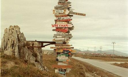 falkland islands signposts