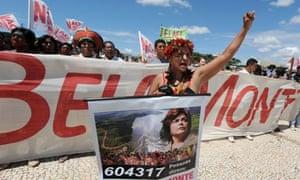 Belo Monte protest