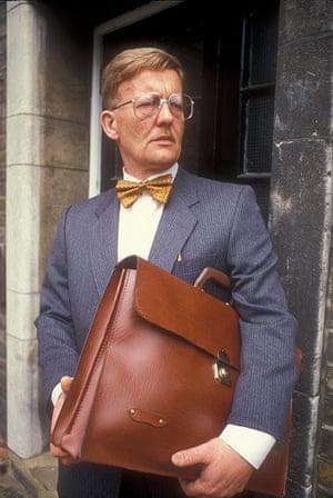 Dramarama: Michael Sheard as Mr. Bronson in 1980's Grange Hill TV series