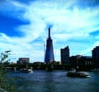 The Shard of Glass under construction in London. Photograph: Paul Owen