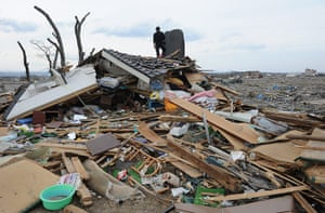 Japan disaster 1 month on: Earthquake and Tsunami aftermath in Natori, Japan