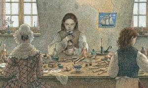 Angela Barrett illustration from Rocking Horse Land