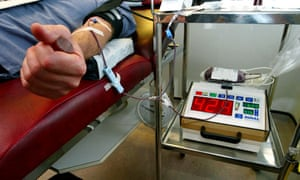 Gay blood donation