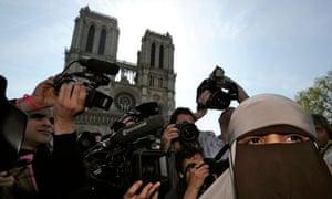 Kenza Drider niqab