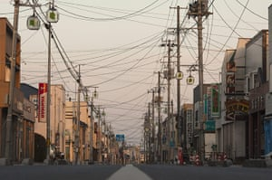 Fukushima disaster: Deserted Streets In Nuclear Exclusion Zone As Towns Are Abandoned