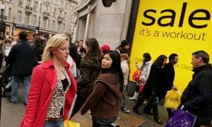 Bargain Hunters Hit The Streets As Sales Begin