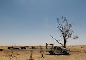 Ajdabiya, Libya : Eastern Libya Continues Fight Against Gaddafi Forces, Ajdabiya