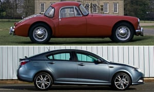 MG Cars composite