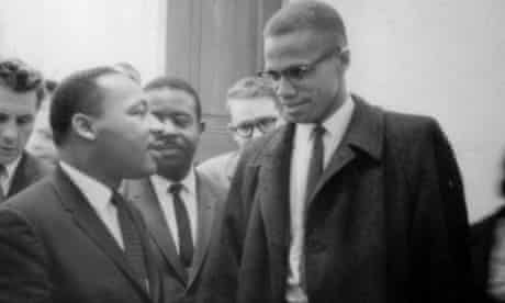 Martin Luther King Jnr and Malcolm X