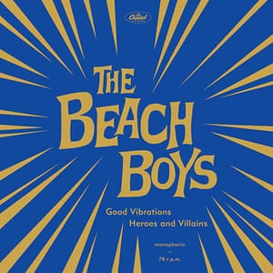 Record Covers: BeachBoys - Good Vibrations Record Cover For Record Shop Day