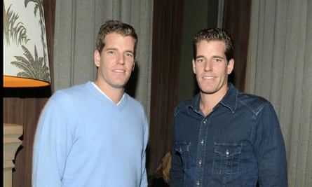 Tyler and Cameron Winklevoss.