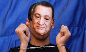 protester Egyptian president Hosni Mubarak Tahrir square