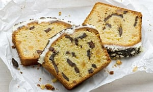 Ginger chocolate chip pound cake