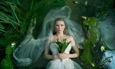 Kirsten Dunst in Melancholia by Lars von Trier