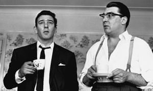 The Kray twins Ronnie and Reggie