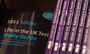 Study Guides for the British citizenship test
