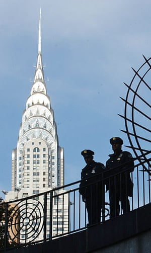 10 best: tall buildings: Security Heighten As UN General Assembly Meets