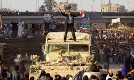 Tahrir Square, Cairo, on 2 February 2011