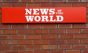 File photo of sign outside the News International Limited complex, in London