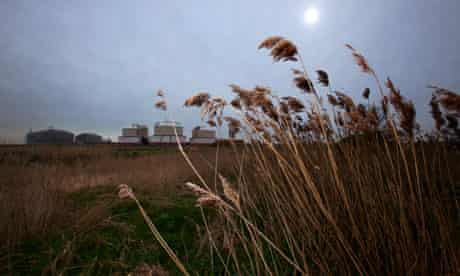 The Isle of Grain abandoned industrial area