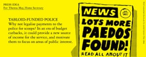 Benrik Pitch: Tabloid-funded police