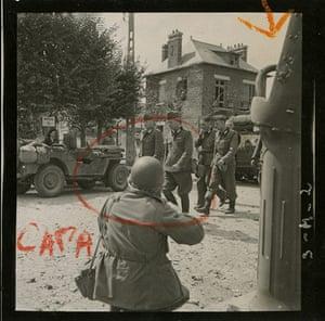John G. Morris auction: Capa at Work, 1944