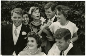 John G. Morris auction: Jackie and the Kennedys, Wedding day in Newport