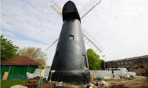 Brixton windmill, south London