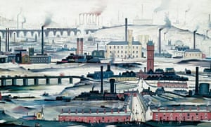 Industrial Landscape by LS Lowry
