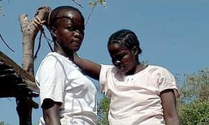young women in rural Kenya refuse genital mutilation