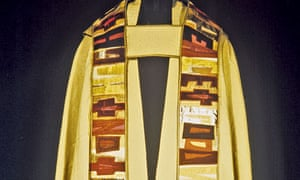 Pat Russell's cope for the Modern Art in the Church exhibition in Oxford in 1964