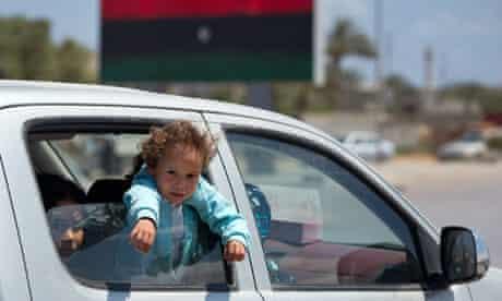 Libyan children in Misrata