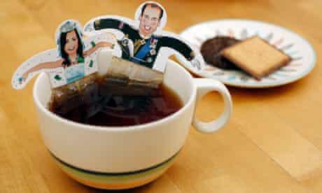 Royal wedding teabags