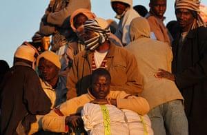 Misrata, Libya : Besieged Libyan City Of Misrata Struggles Against Gaddafi's Forces