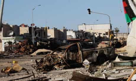 Besieged Libyan City Of Misrata Struggles Against Gaddafi's Forces