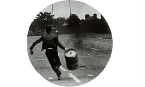 Broomberg (Boy running with barrel)