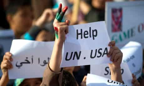Libyan rebels pleading for more western help