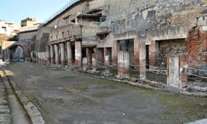 Roman high street reopens to visitors after more than 20 years