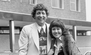 Elisabeth Sladen with Tom Baker