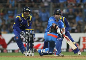 Cricket World Cup: Gautam Gambhir adds to his impressive tally of runs with a paddle sweep