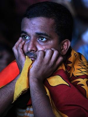 Cricket World Cup: A dejected Sri Lankan cricket fan