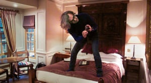 Week in pics: Wim Wenders: Wim Wenders on bed